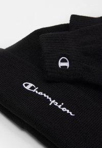 Champion - GIFT SET UNISEX - Czapka - black - 3