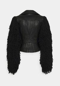 Diesel - L-ELIZABETH - Leather jacket - black - 1