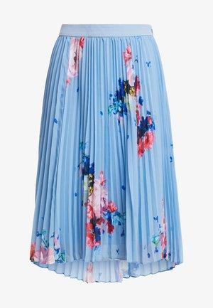 HARRPA - Pleated skirt - lt blue