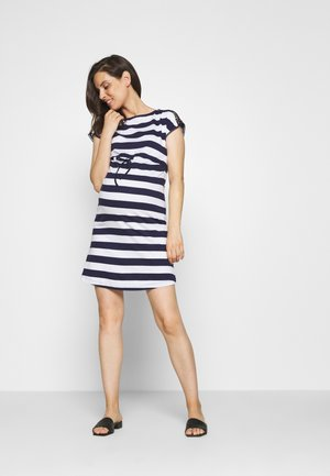 Jerseyjurk - evening blue/white