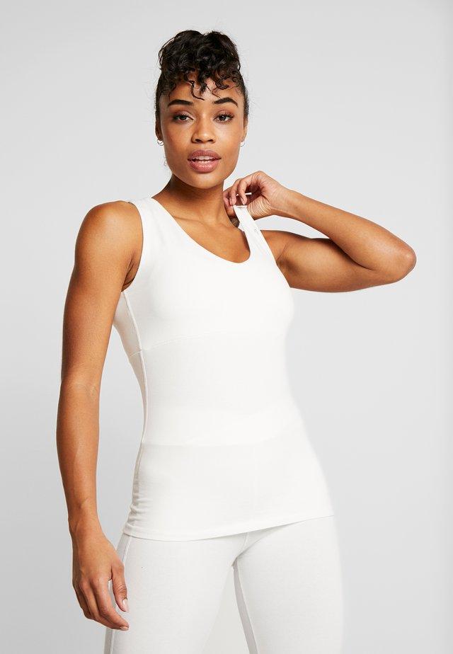 CANOTTA - Sportshirt - white