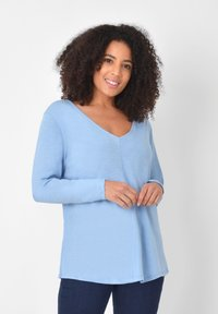Live Unlimited London - Long sleeved top - light blue - 0