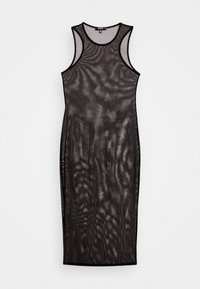 Missguided Plus - RACER NECK - Maxi dress - black - 3