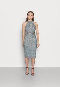 SISTA GLAM PETITE - GLOSSIE  - Cocktail dress / Party dress - grey/blue - 0