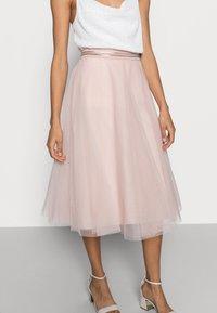 Esprit Collection - SKIRT - A-line skirt - nude - 4