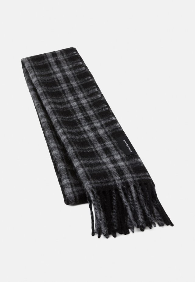 UPTOWN SCARF CHECK - Scarf - black