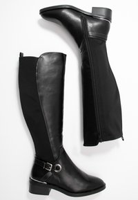 Dorothy Perkins Wide Fit - WIDE FIT KIKKA FORMAL RIDING BOOT - Boots - black - 3