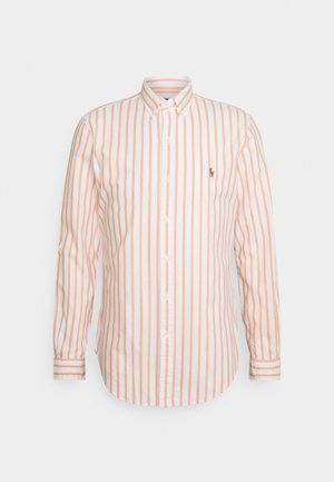 OXFORD - Shirt - orange/white