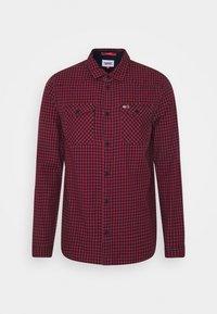 Tommy Jeans - GINGHAM WESTERN - Shirt - deep crimson - 3
