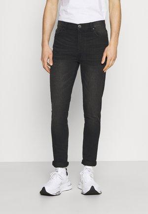 SLIM LEG - Slim fit jeans - washed black