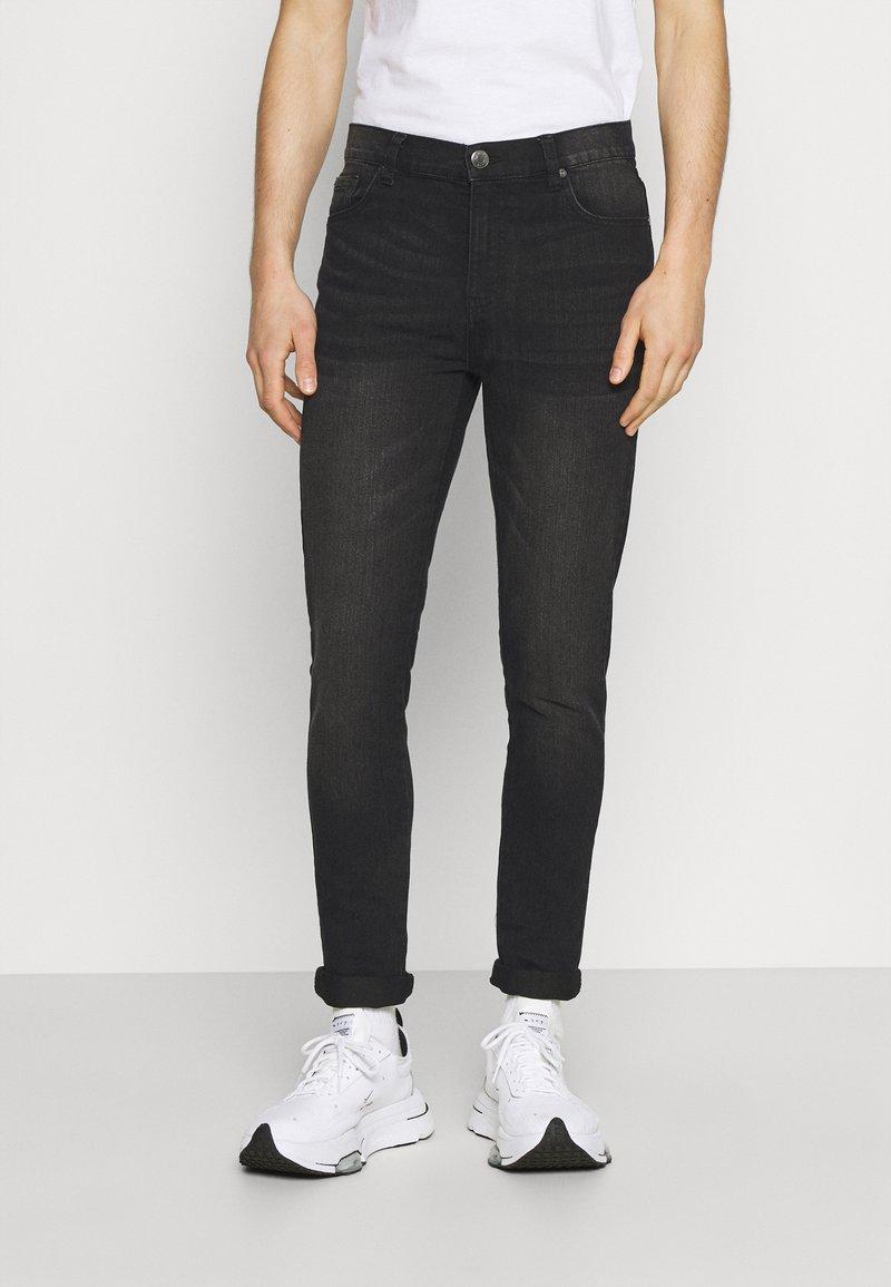 Newport Bay Sailing Club - SLIM LEG - Jeans slim fit - washed black
