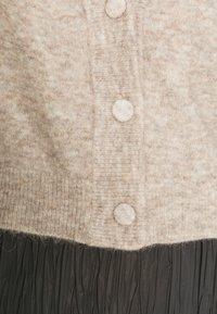 Gestuz - DEBBIEPUFF CARDIGAN - Cardigan - pure cashmere melange - 4