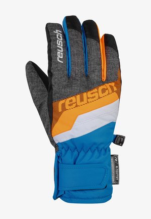 DARIO R-TEX® XT  - Gloves - blck mlang/brill blue/sho