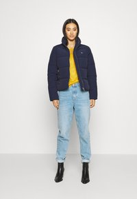 Tommy Jeans - MODERN PUFFER JACKET - Winter jacket - twilight navy - 1
