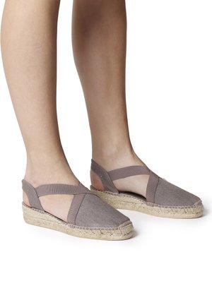 VERONA - Wedge sandals - taupe