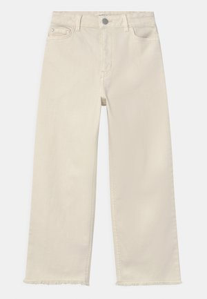 TROUSERS LOTTE - Jeansy Relaxed Fit - off white