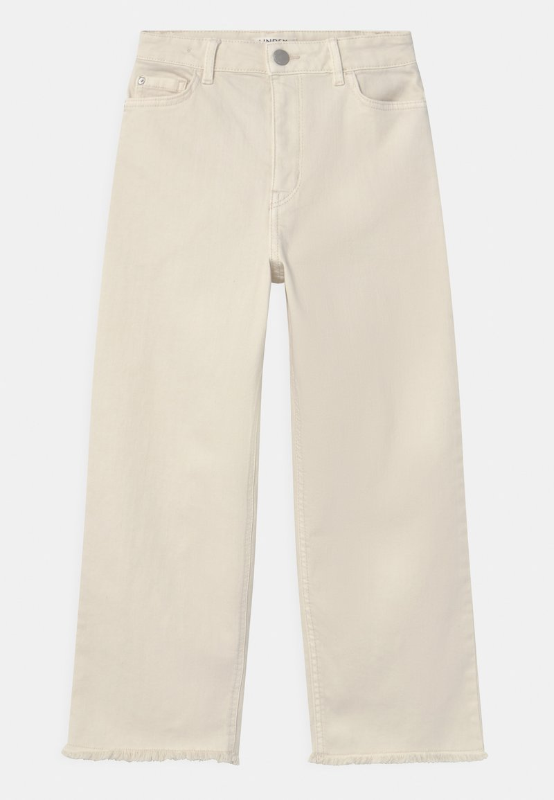 Lindex - TROUSERS LOTTE - Jeans Relaxed Fit - off white