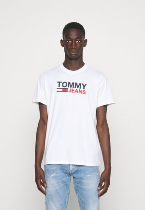 CORP LOGO TEE - T-shirt con stampa - white