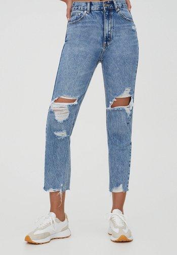 MOM - Jeans baggy - light blue