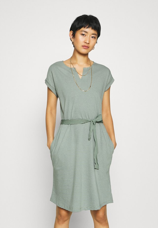 EASY DRESS - Robe en jersey - olive khaki