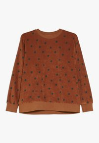 TINYCOTTONS - SMALL APPLES  - Sweatshirt - brown/bottle green - 0