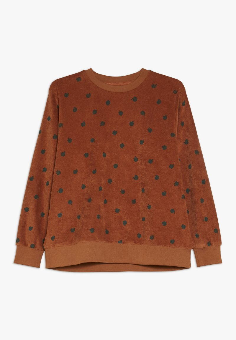 TINYCOTTONS - SMALL APPLES  - Sweatshirt - brown/bottle green