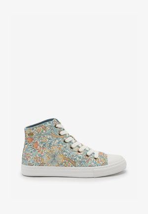 MORRIS & CO. AT NEXT HIGH TOP BASEBALL TRAINERS - Sneakers hoog - green
