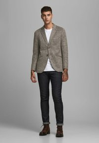 Jack & Jones PREMIUM - Blazer jacket - dark earth - 1