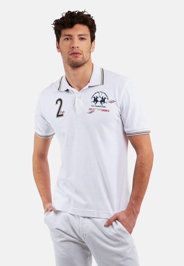 PUKKA - Koszulka polo - optic white