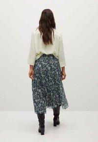 Violeta by Mango - PARADIS - A-line skirt - blau - 2