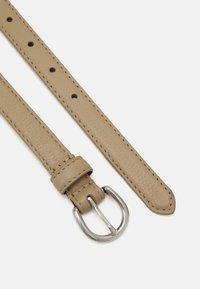 Zign - LEATHER - Pásek - beige - 1