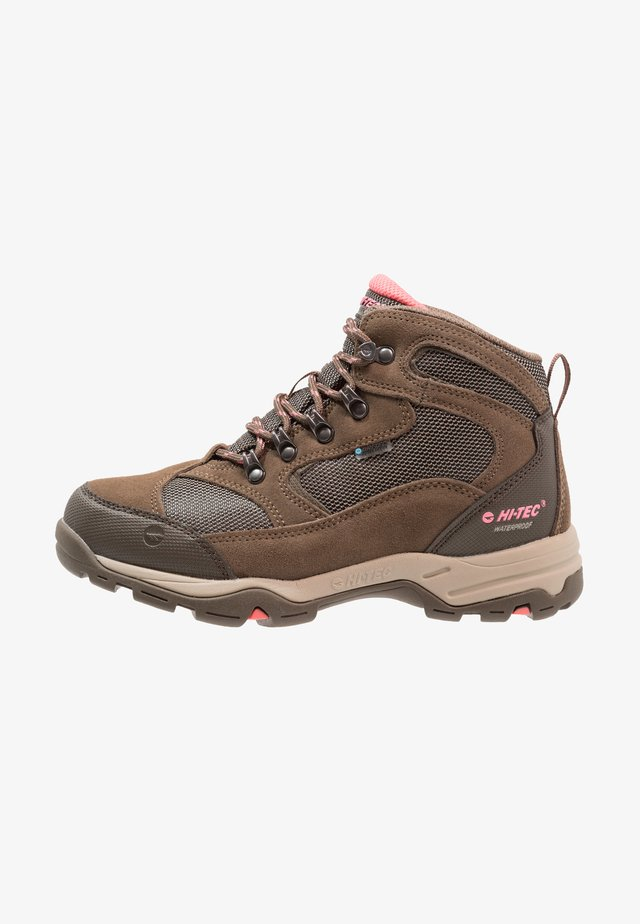 STORM WP WOMENS - Hiking shoes - taupe/dune/georgia peach