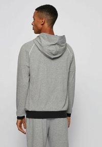 BOSS - veste en sweat zippée - grey - 2
