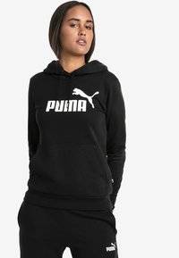 Puma - DAMEN  - Felpa con cappuccio - black - 0