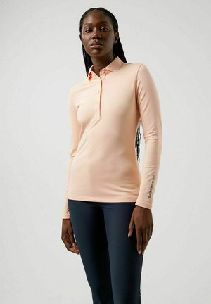 Polo shirt - pale pink