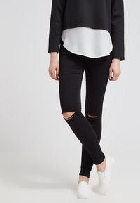 ONLY - ONLROYAL - Jeans Skinny Fit - black - 0