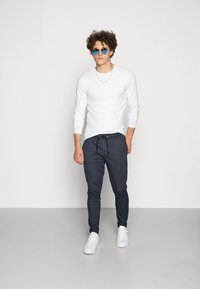Only & Sons - ONSBASIC SLIM TEE - Long sleeved top - white - 1