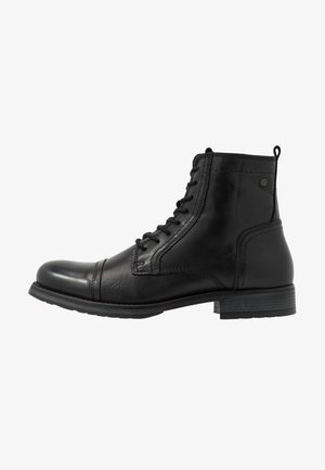 JFWRUSSEL WARM  - Lace-up ankle boots - anthracite