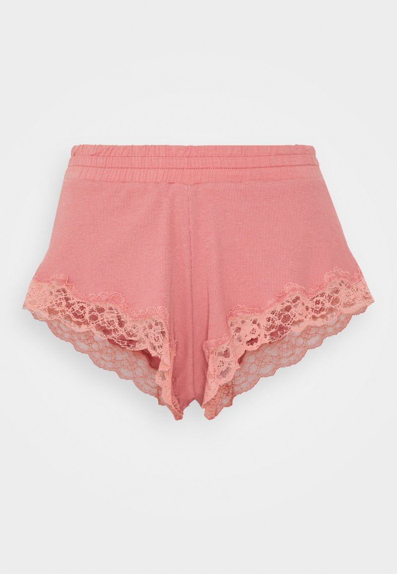 Hunkemöller - x NA-KD SHORT MIA - Pyjama bottoms - dusty pink