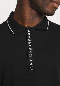 Armani Exchange - Poloshirt - black - 5