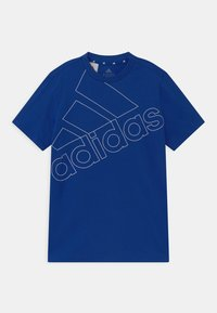 adidas Performance - LOGO UNISEX - Print T-shirt - royal blue/white - 0