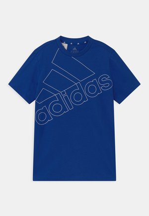 LOGO UNISEX - T-shirt con stampa - royal blue/white