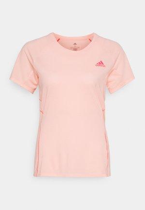 ADI RUNNER TEE - T-shirts med print - coral