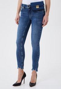 LIU JO - Jeans Skinny Fit - black denim - 0