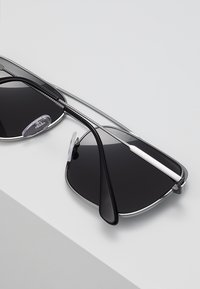 Prada - Solbriller - black/gunmetal/grey - 4