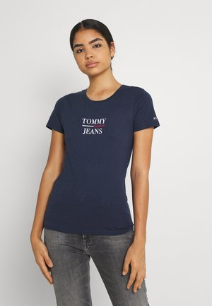 ESSENTIAL - T-shirt con stampa - twilight navy