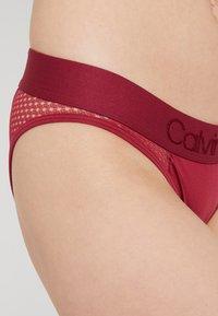 Calvin Klein Underwear - TONAL LOGO NEWNESS - Underbukse - raspberry jam - 4