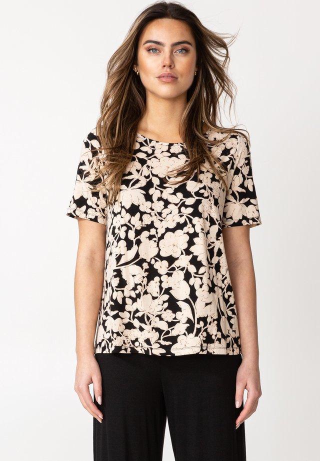 DIANA  - T-shirt con stampa - black