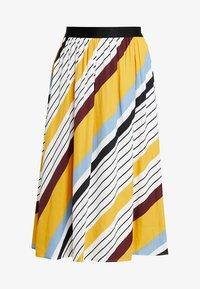 Gestuz - DIANONA SKIRT - A-line skirt - yellow - 3