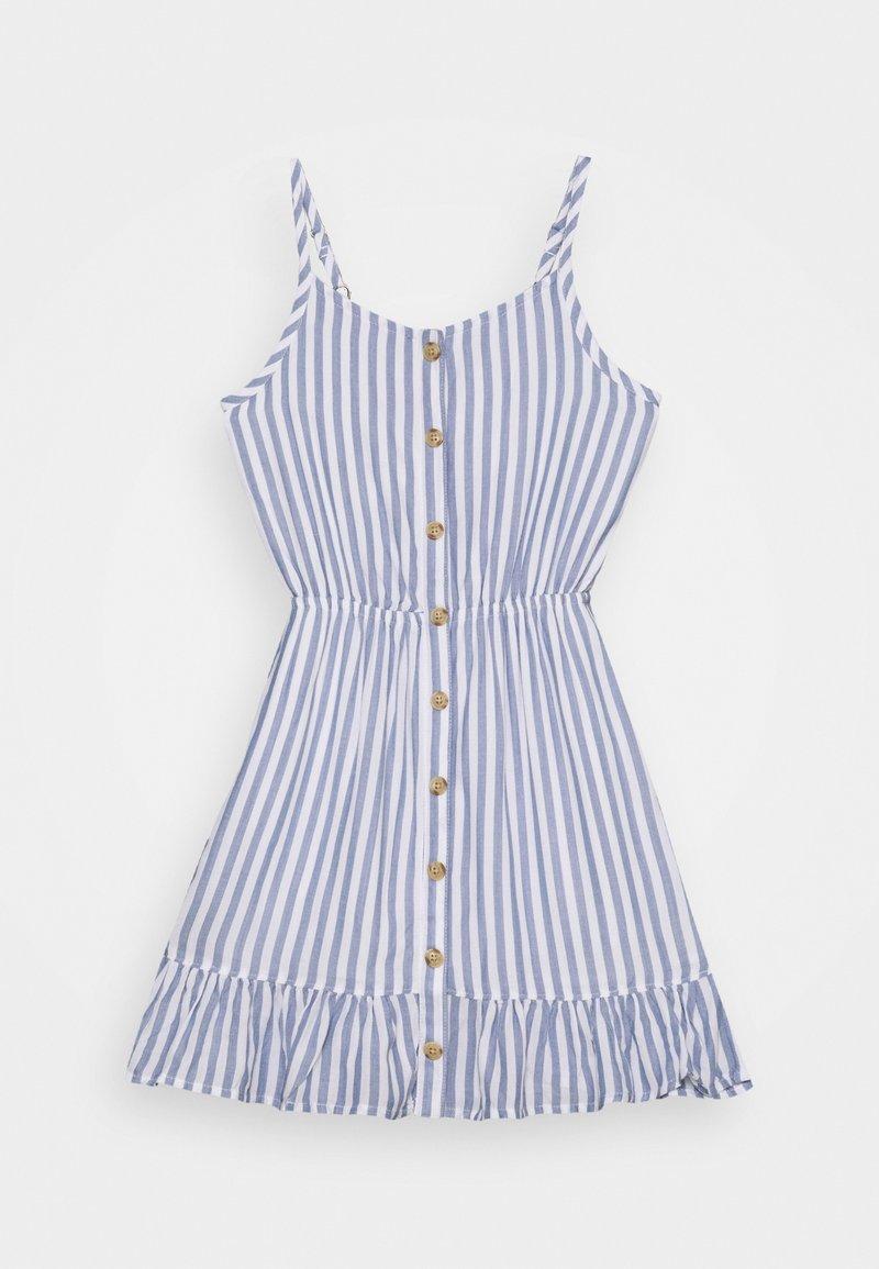 Abercrombie & Fitch - BEST BACK EASTER  - Denní šaty - dark blue